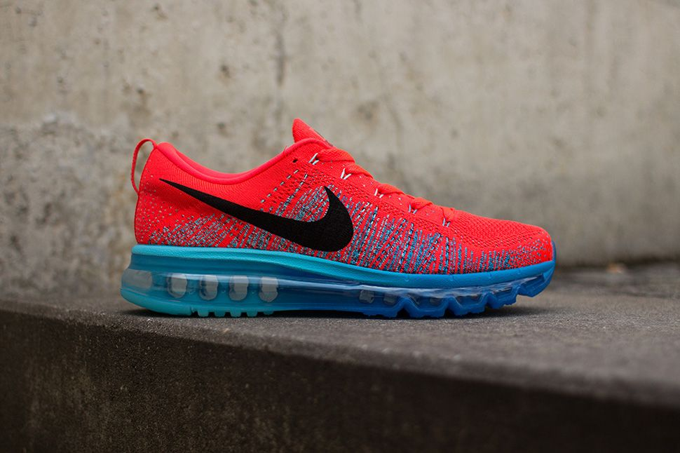 nike flyknit air max bright crimson