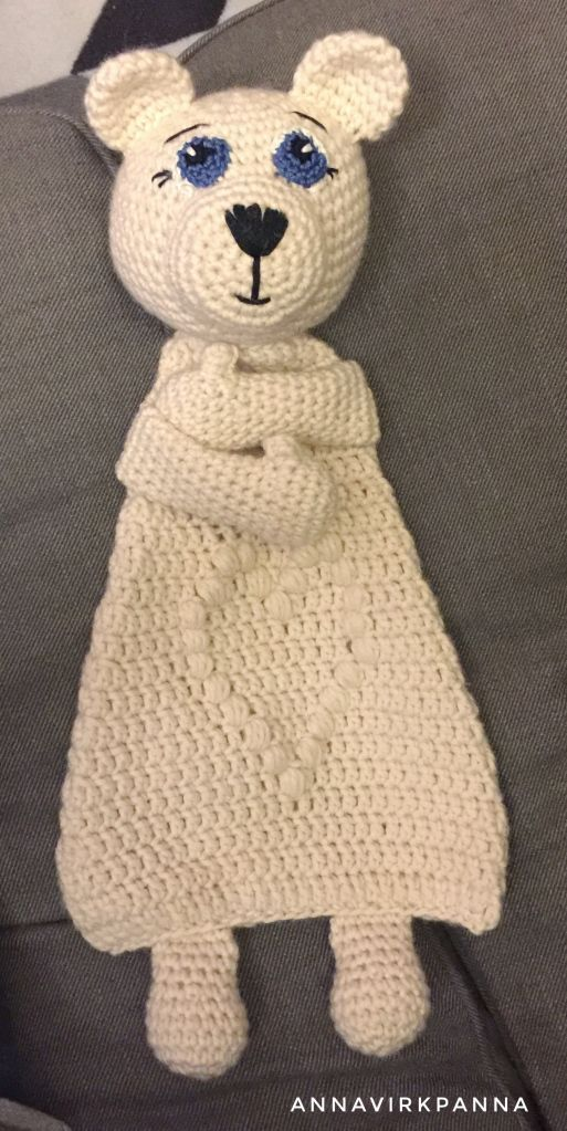 Crochet Free Pattern English And Swedish Amigurumi Ice Bear