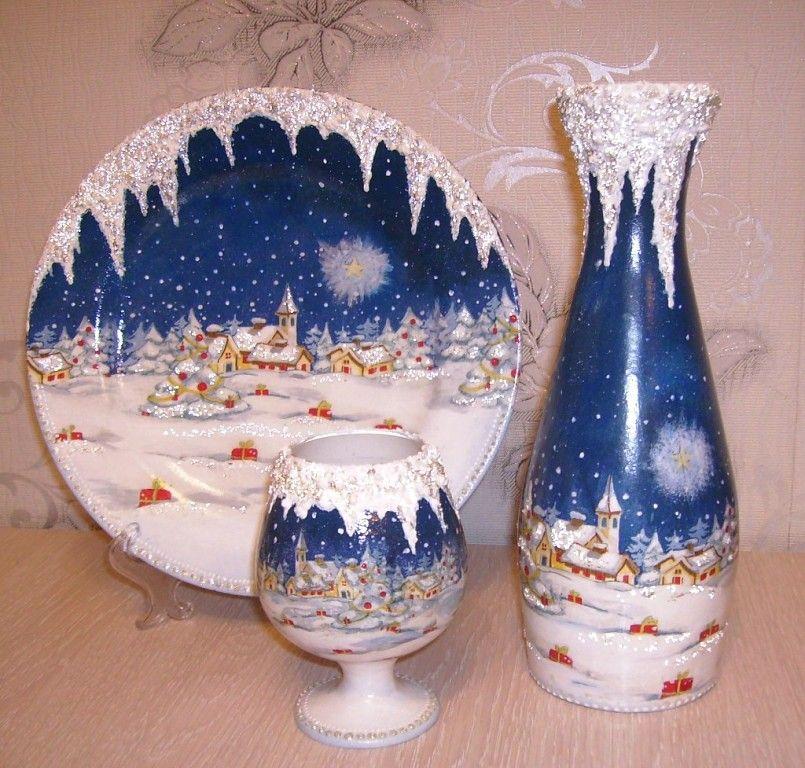 image (805×768)   Vasen   Pinterest   Flaschen, Weihnachten und ...