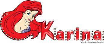 Significado De Nombre Karina Buscar Con Google Texto Animado Nombres Animados Imagenes Animadas
