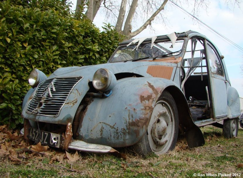 2cv - this one is worth saving. Tell me where it is and I\'ll go get ...