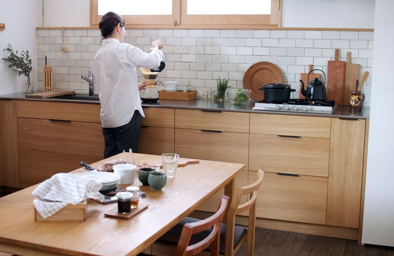 Kitchen Of The Week A Custom Culinary Workspace By A Japanese Atelier Remodelista Japanese Kitchen Kitchen Remodel Kitchen Design
