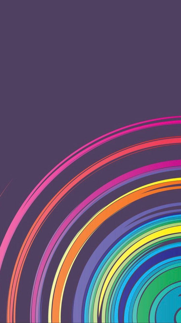 Terima Abstract Iphone Wallpaper Abstract Rainbow Wallpaper