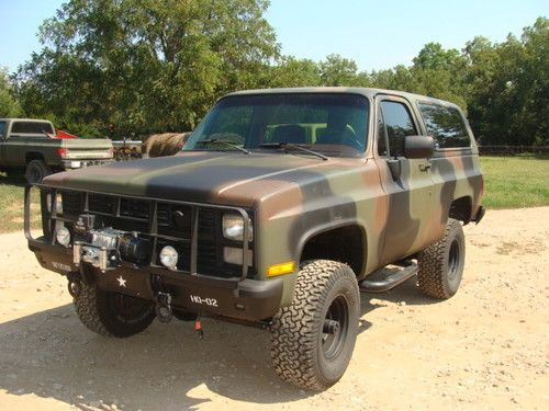 Buy Used 1984 Chevrolet M1009 Cucv Blazer K5 Military 4x4 A C