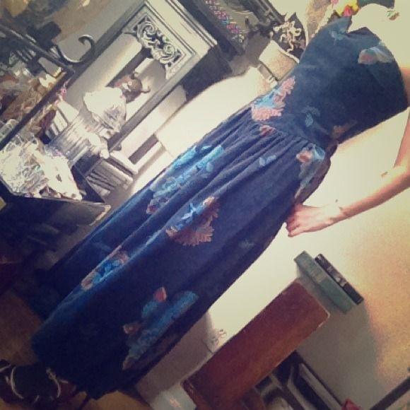 Kathryn Conover Blue Velvet Dress Blue Velvet Dress Velvet Dress Blue Velvet