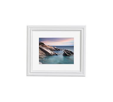 Windward Rocks Framed Print By Katherine Gendreau, 11x13\