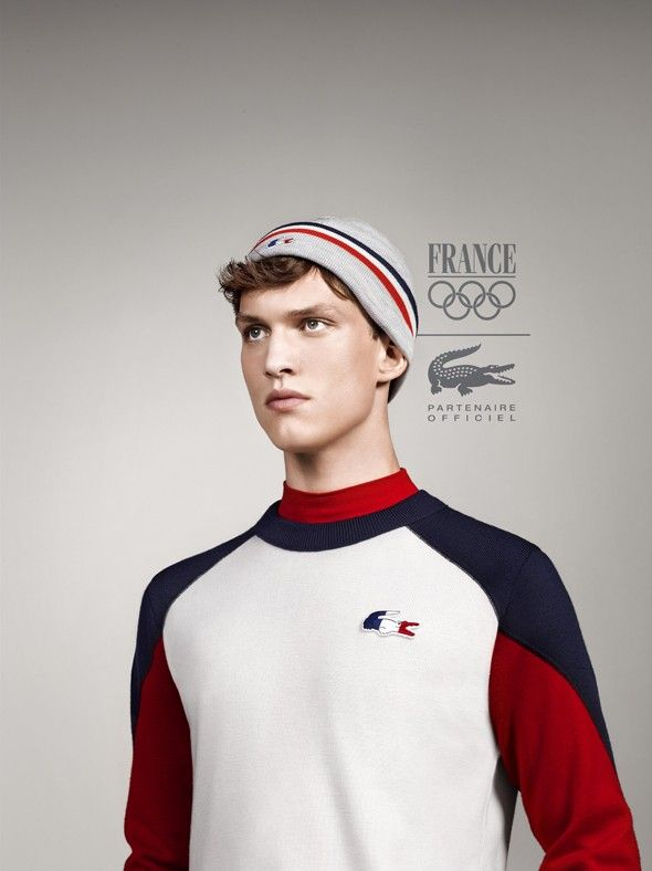 Lacoste De France Habille OlympiqueSportswear L'équipe Yfby76vg