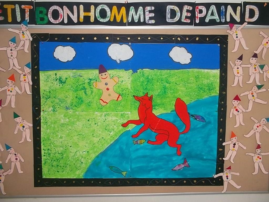 Petit Bonhomme En Pain D Epice Les Arts Visuels A L Ecole Pinterest