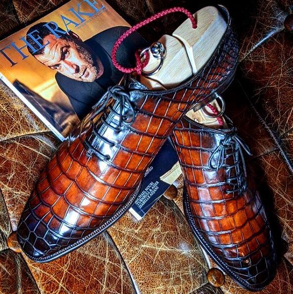 Formal Alligator Business Dress Shoes for Men in 2020 ...
