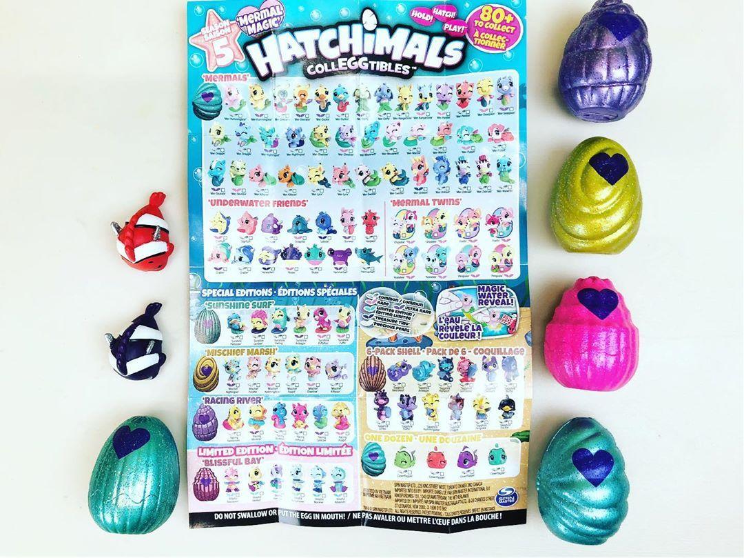 Colleggtibles 6pk Sea Shell mermal Magic