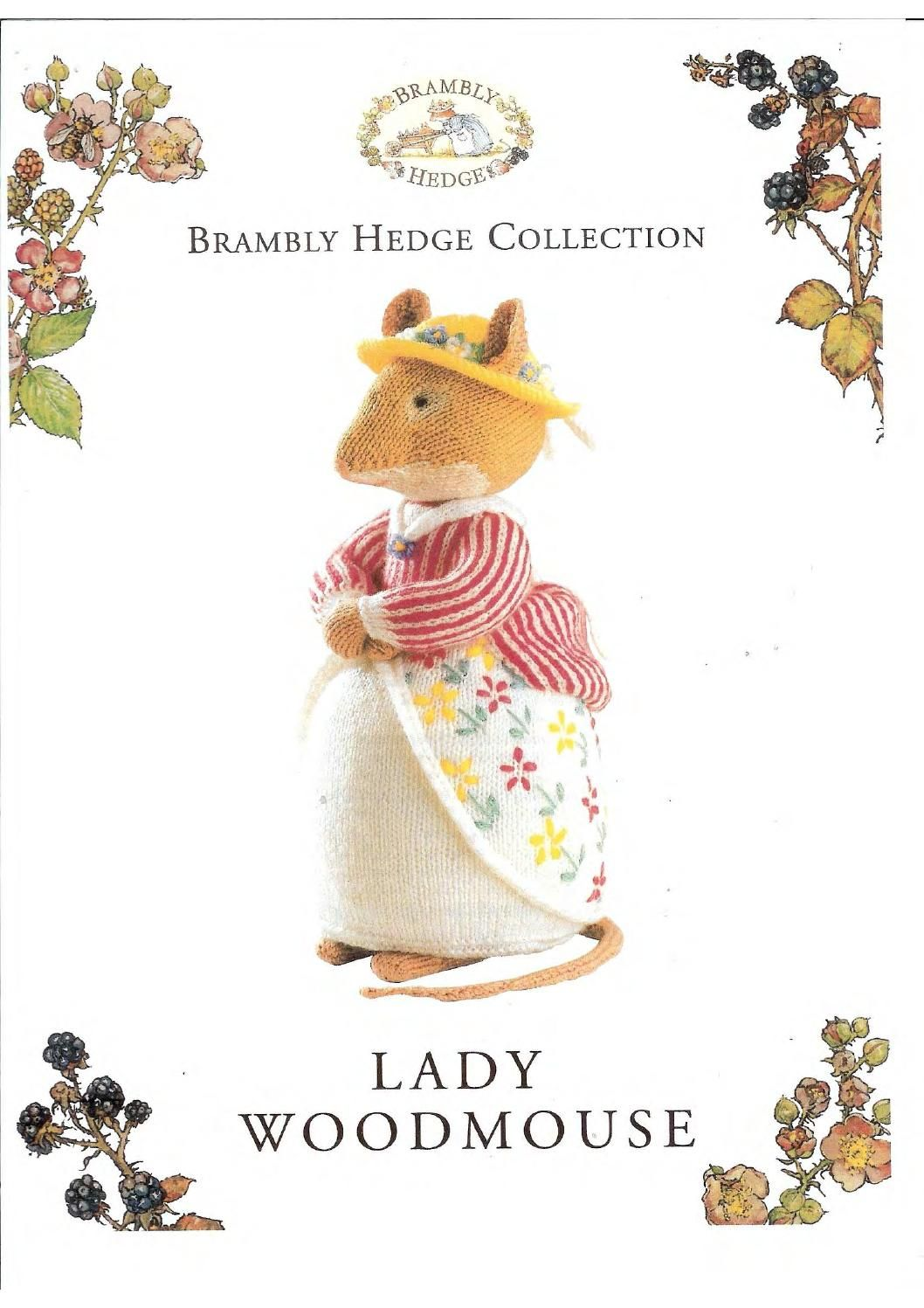 Knit brambly hedge collection lady woodmouse by FREE Magazine Inside ...