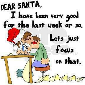 Letter To Santa Claus Good Christmas Funny Santa Quotes Funny Christmas Jokes Dear Santa Funny