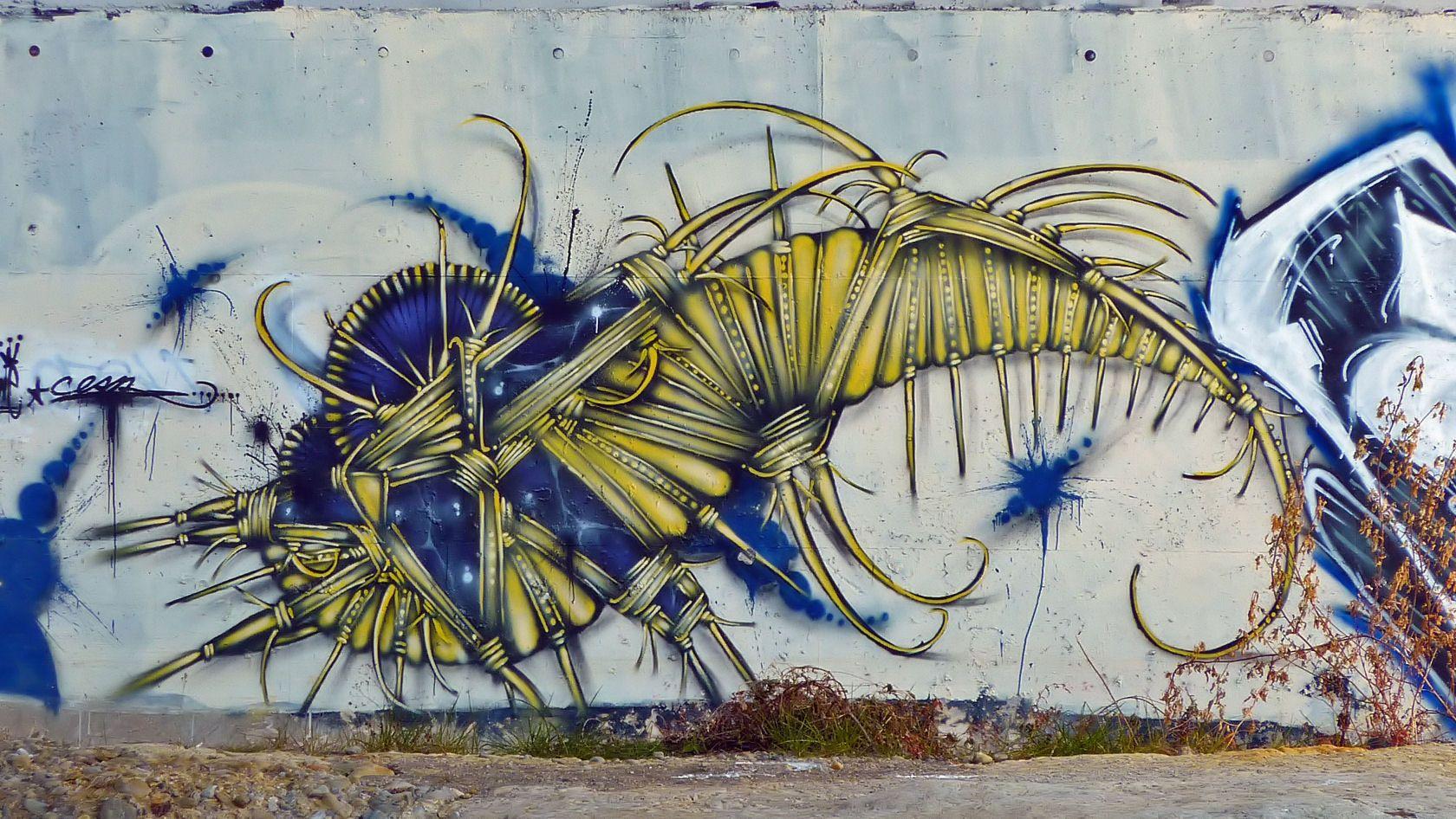 Graffiti art information - Street Art Tokyo Japan Graffiti