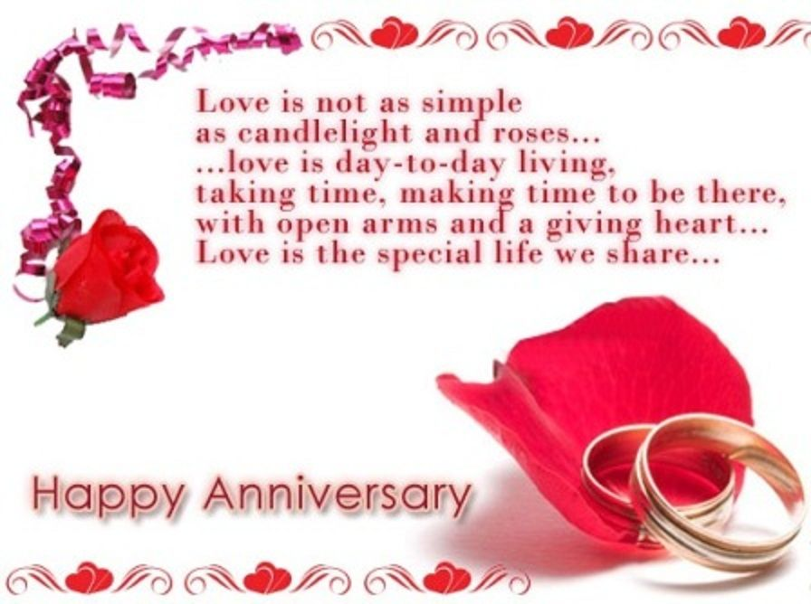 Wedding Anniversary Quotes To My Wife Valentines Day Greeting – Wedding Anniversary Card Quotes