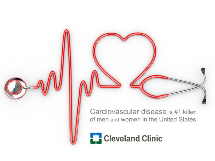 Know your <3 HEART <3 facts: Cardiovascular disease is the No. 1 Killer of WOMEN in the United States.  ClevelandClinic