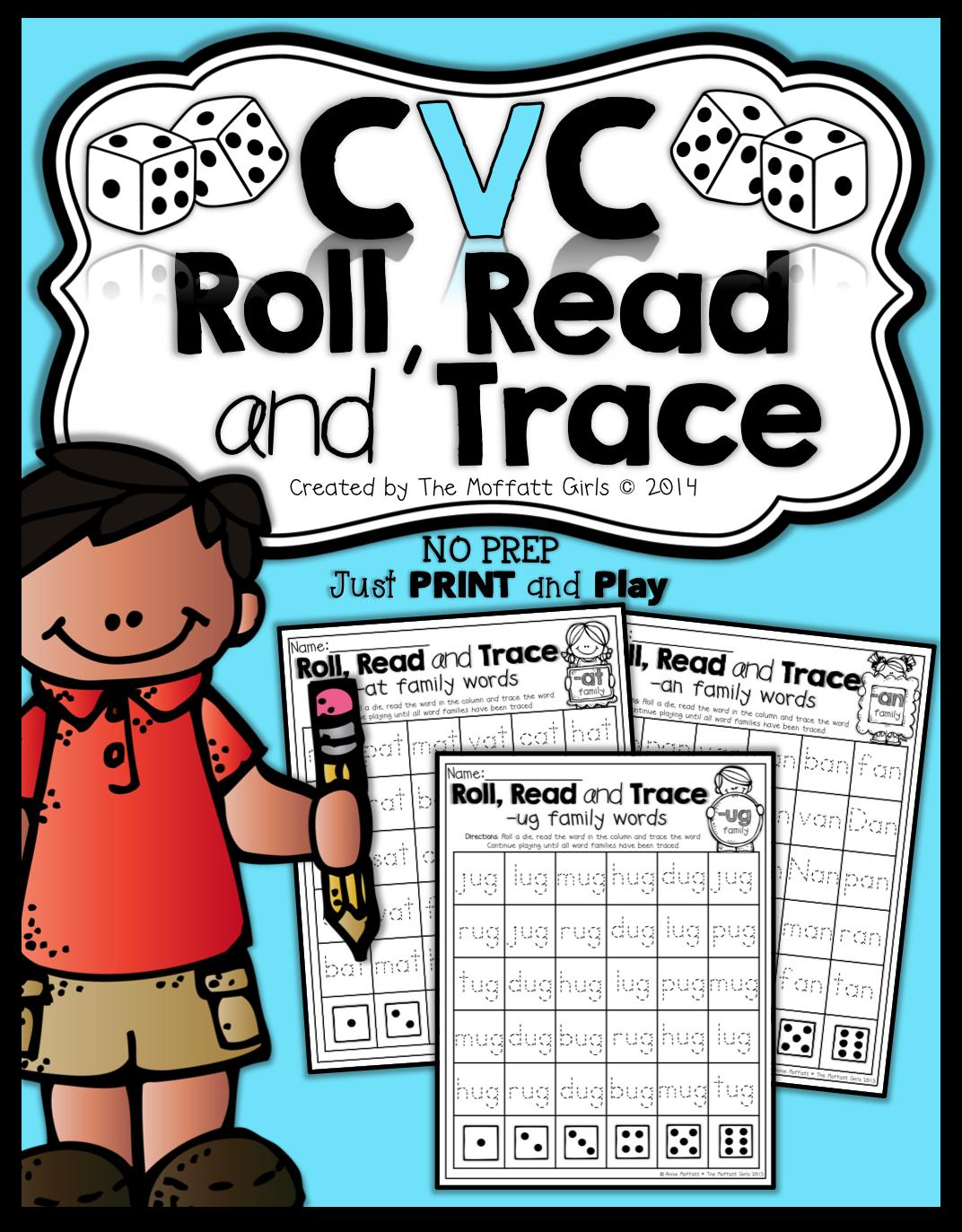 Cvc Roll It Read It Write It