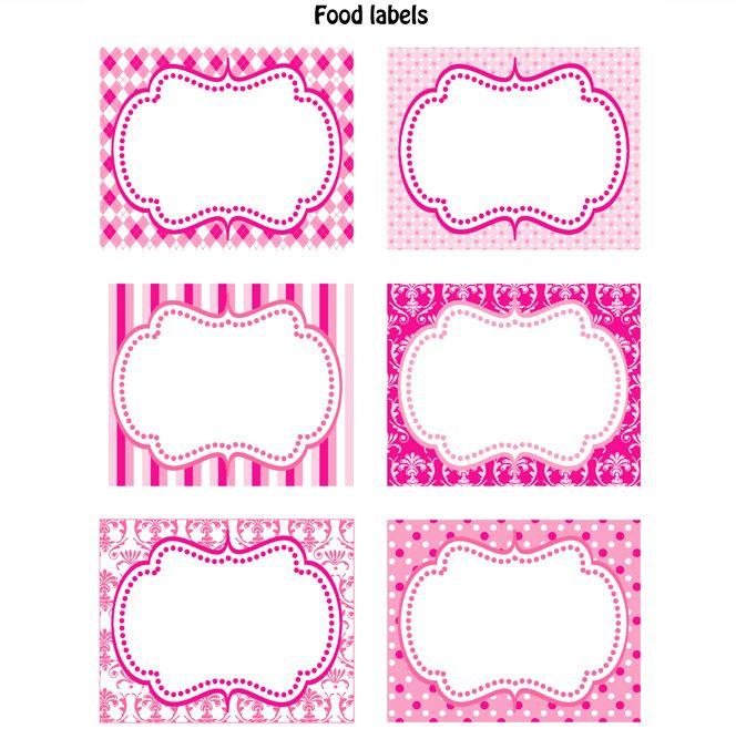 cute labels labels party pinterest printable labels