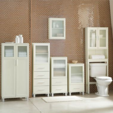 Frosted Pane Bath Furniture Collection Found At Jcpenney