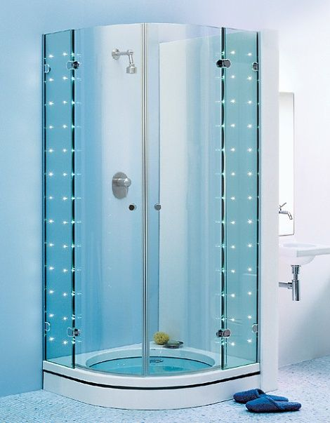Frameless quadrant shower enclosure is one of the latest innovations of  enclosures. Because of their