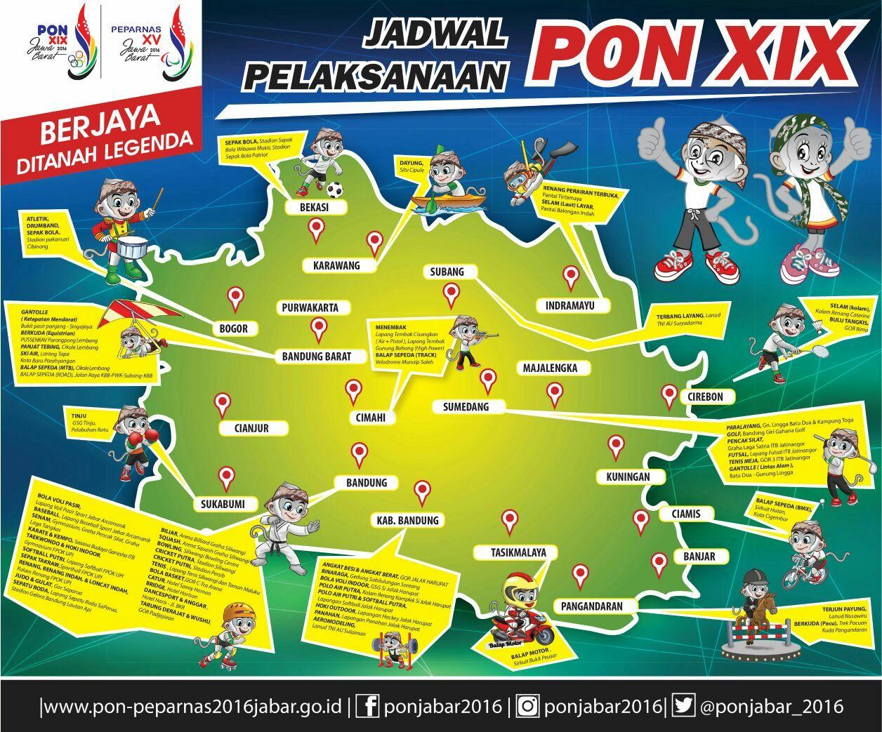 Pin Di All About Pon Peparnas 2016