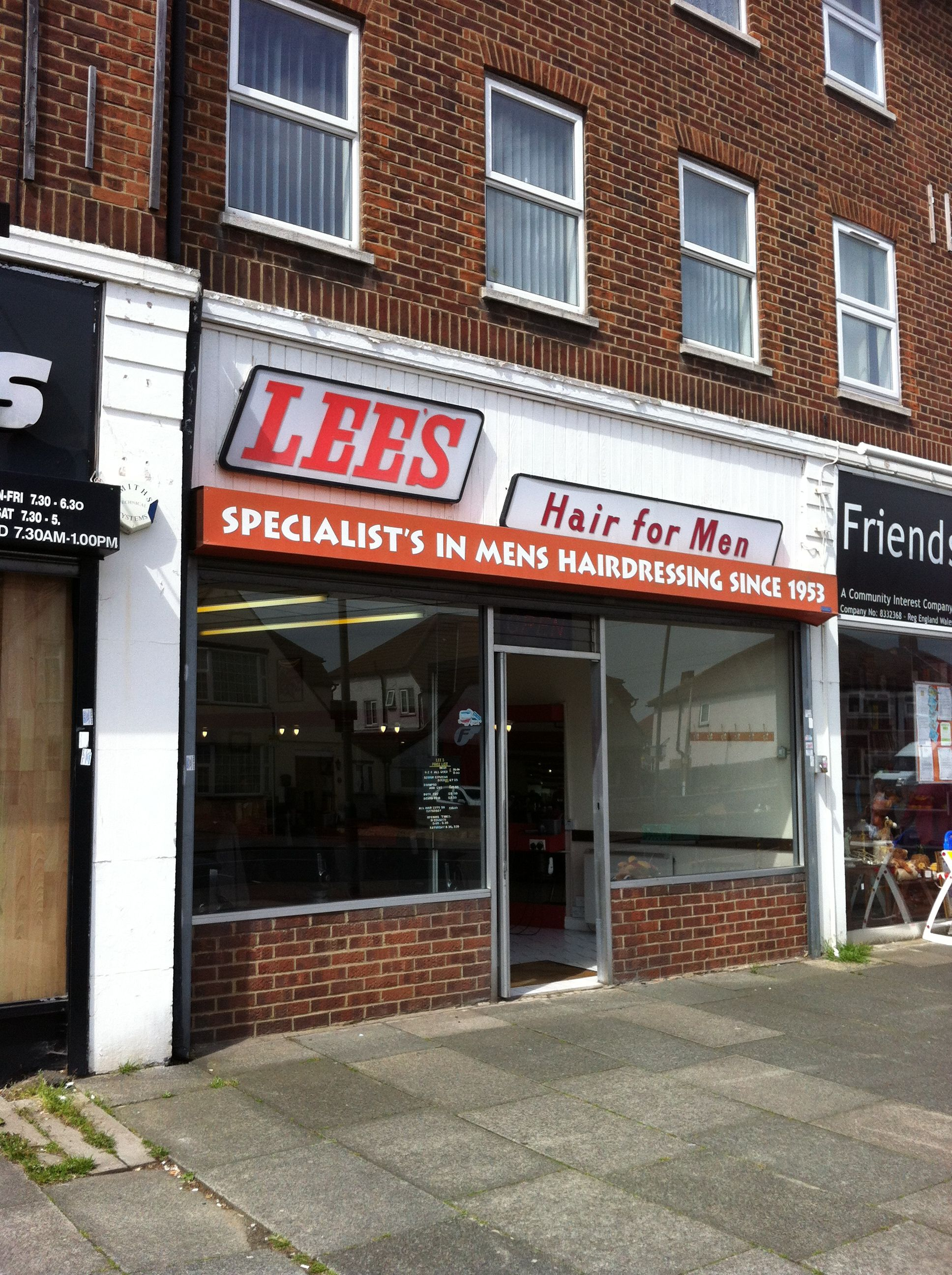 The Name Of The Shop Has Correct Apostrophe As It Is Lee S