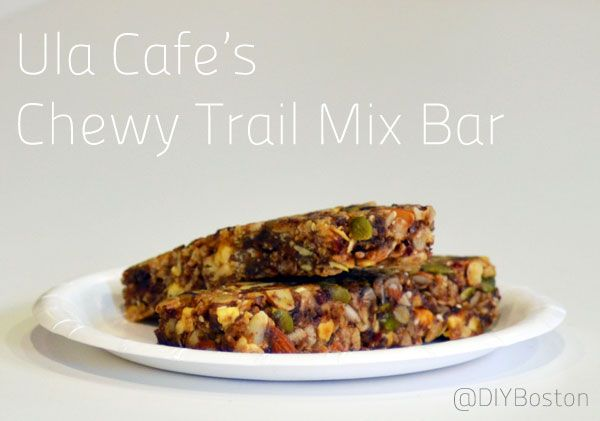 Recipe: Fuel your workout with Ula Cafes Chewy Trail Mix Bar