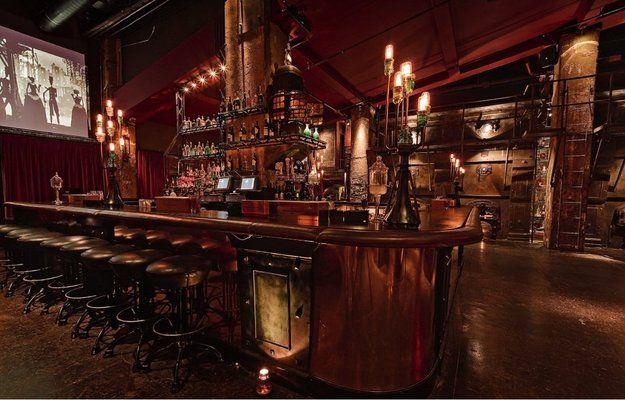 The Edison Located In The Basement Of The Higgins Building C 1910 Downtown 108 W 2nd St Los Angeles Ca 90012 U Underground Bar Hidden Bar Steampunk Bar