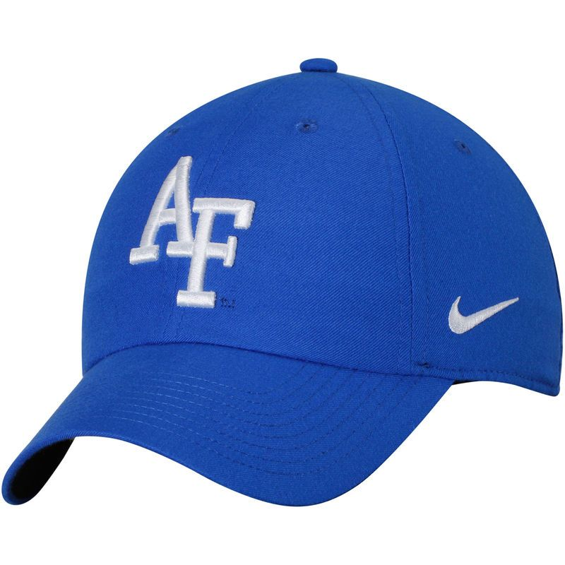 new concept 8d090 ae871 Air Force Falcons Nike Heritage 86 Authentic Adjustable Performance Hat -  Royal