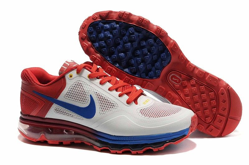 Cheap Nike Air Max 2013 Men Shoes Red Blue White 1895878 for sports shoes