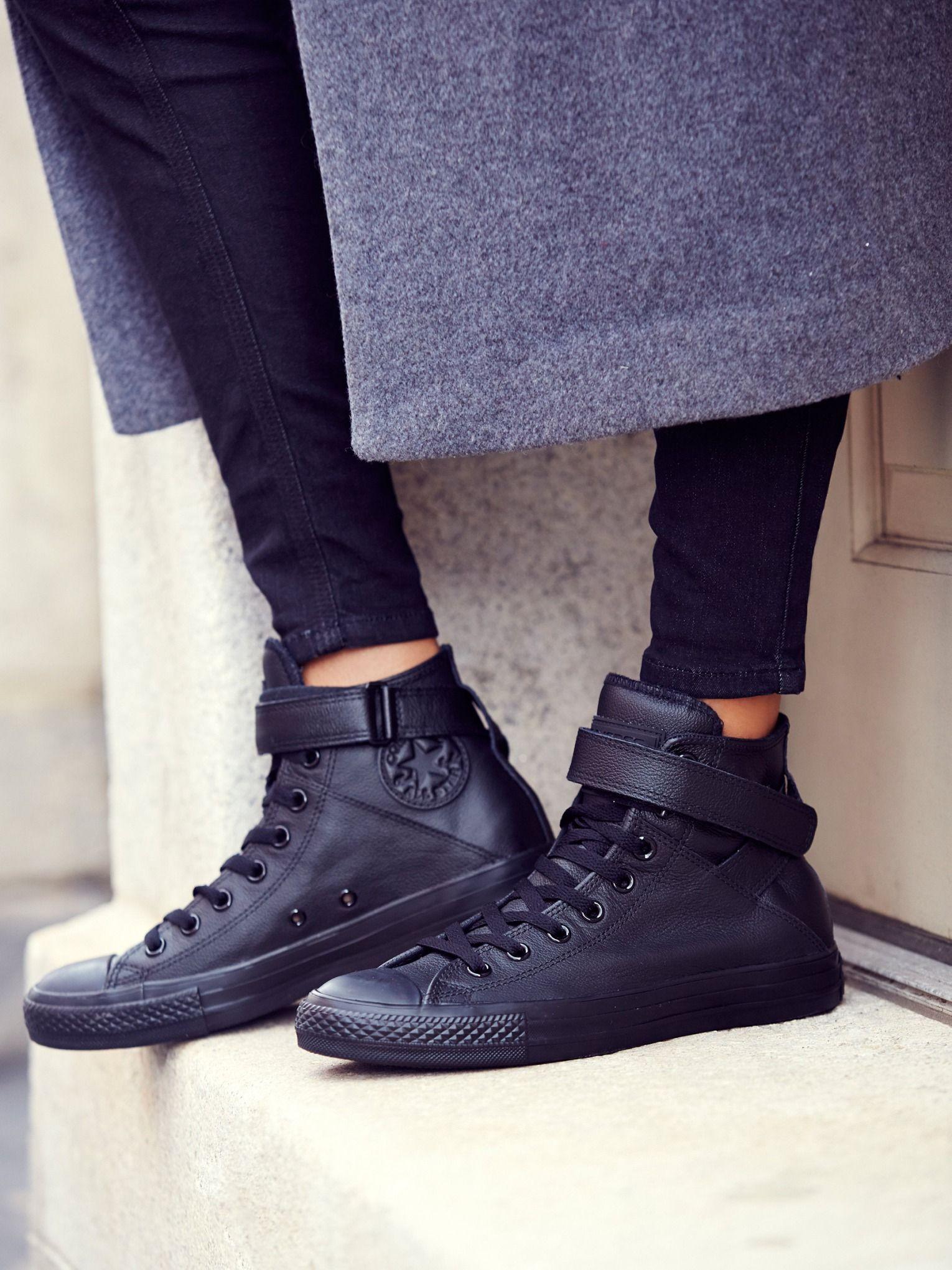 converse mono leather