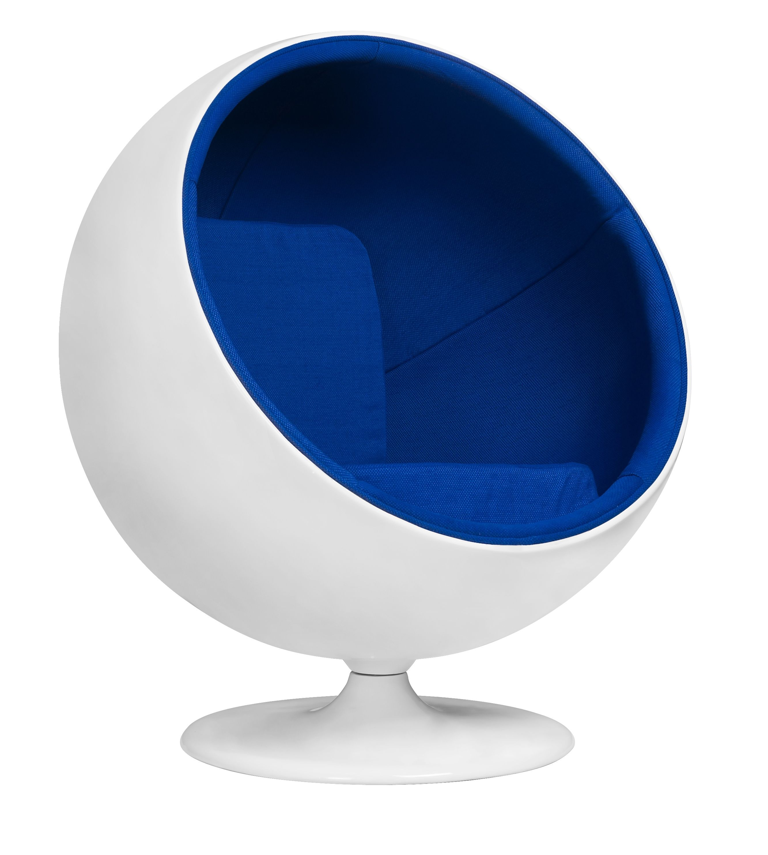 3025 Eero Saarinen Ball Chair Blue