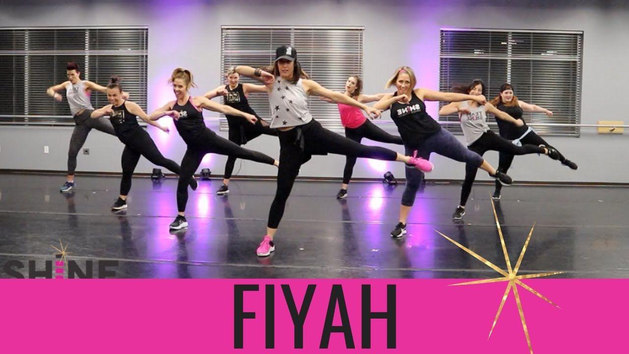 Fiyh By Will I Am Shine Dance Fitness Leg Workout Leg Workout Dance Cardio Workout Zumba Workout Videos
