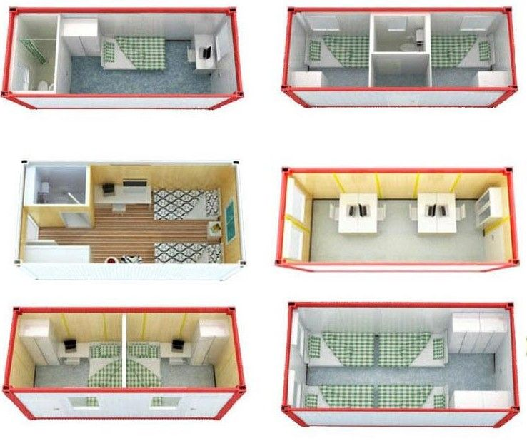 Australia Standard 20ft Granny Flat Pack Container House