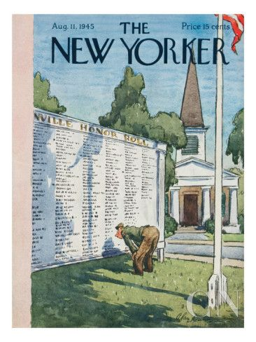 August 11, 1945 - Alan Dunn