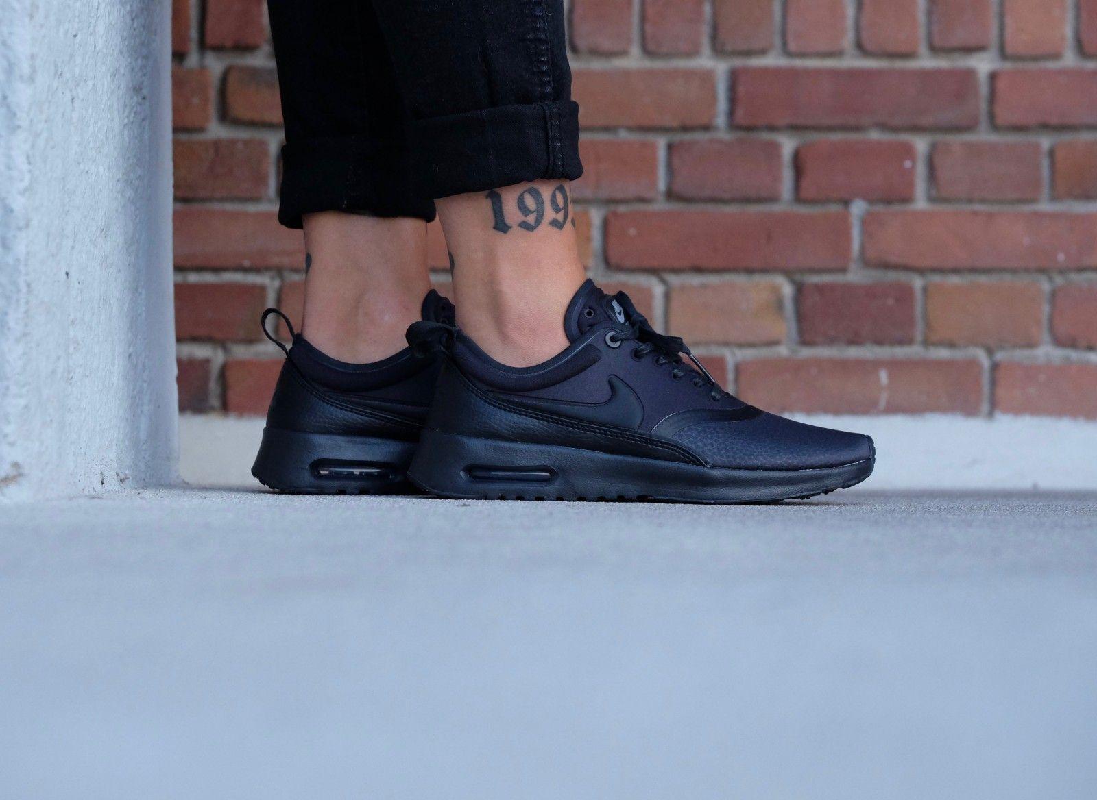 size 40 39b00 03d30 Nike WMNS Air Max Thea Ultra Premium Black/ Black-Cool Grey - 848279-003