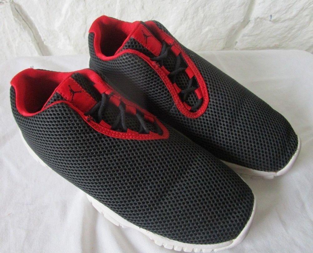 3f1a33390dcfd eBay  Sponsored Nike Air Jordan Future Low Youth BG Black White Red 487724  408 5Y shoes
