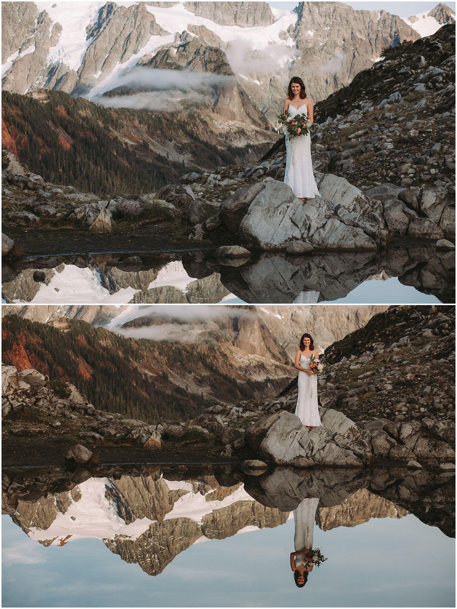 mt shuksan mt baker elopement kim butler Photography