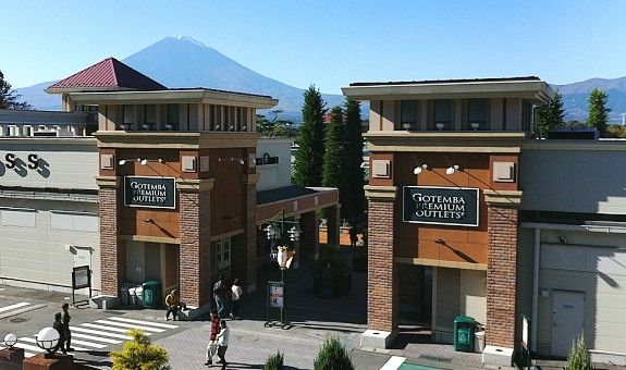 4f02ec5ef66b49 Gotemba Premium Outlets - about hour and a half from Tokyo and at the base  of Mt Fuji near Hakone. This might be a good overnight option!