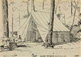 Edward Hopper - Camp Nyack, Greenwood Lake, 1900,...