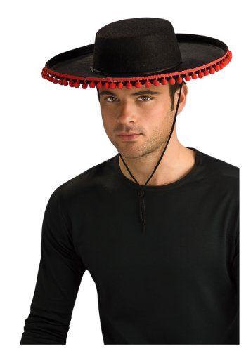 Adult Durashape Spanish Hat w  Pompoms (Adult Durashape Spanish Hat w   Pompoms)… ebc9bb2fd09