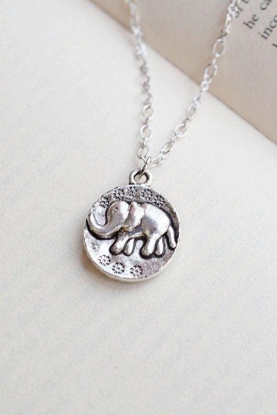 Cute Elephant Necklace,