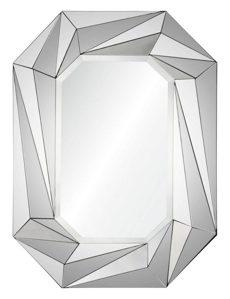 Pevocative Of An Exquisitely Cut Gemstone This Multi Faceted Wall