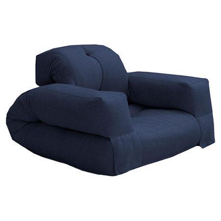 Found It At Wayfair Fresh Hippo Futon Chair In Navy