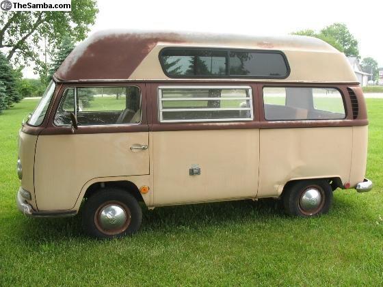 fa3a56964e 1968 Westfalia High Top Price  2500.00 Vw Van For Sale