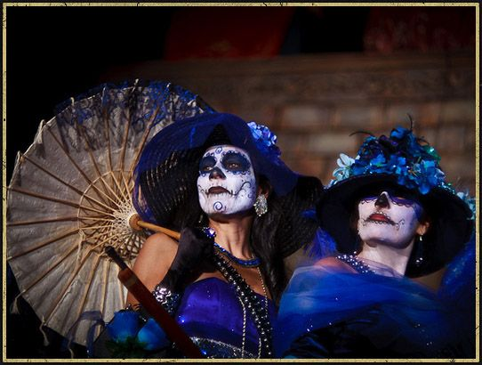 dia de los muertos hollywood forever cemetery | ... Location: Dia De Los Muertos 'Day Of The Dead' Hollywood! (Video