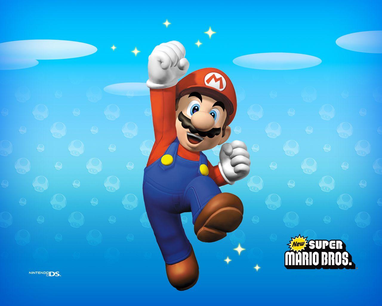 New Super Mario Brothers Wallpaper   Super Mario Bros Wallpaper