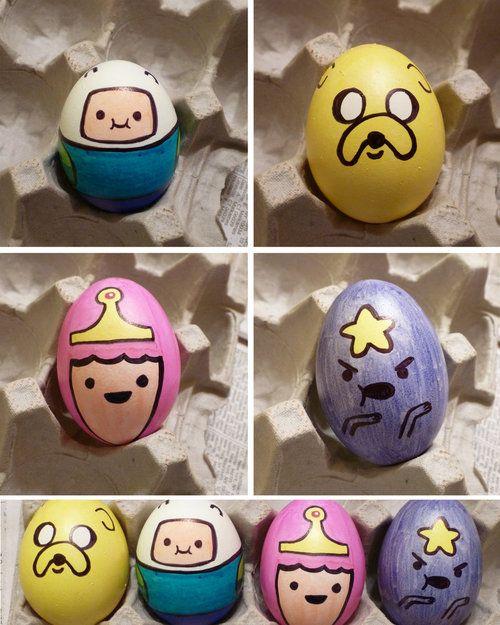 ¡Un clásico de estas fechas! Huevos de Pascua de Hora de Aventuras