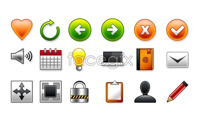 Crystal personalities theme icon PSD