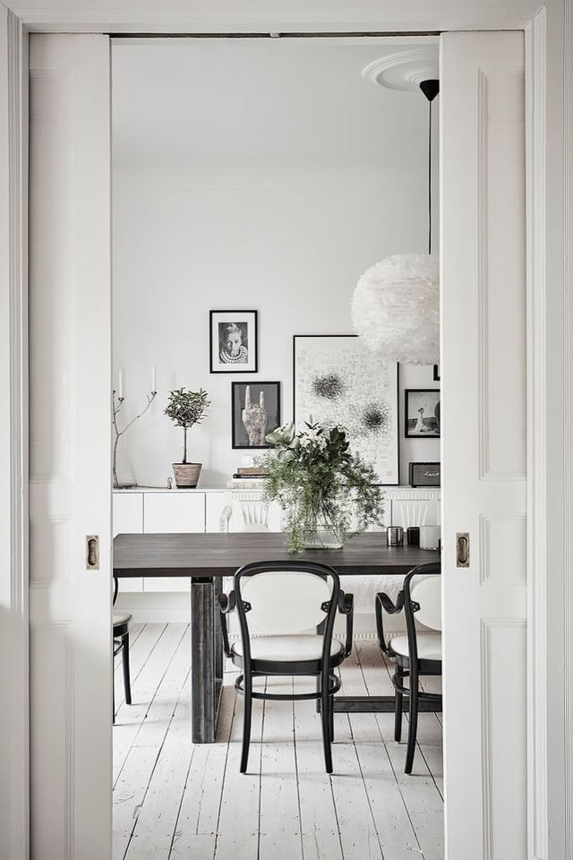 Lámpara de plumas en la cocina (delikatissen) Pluma, Cocinas y