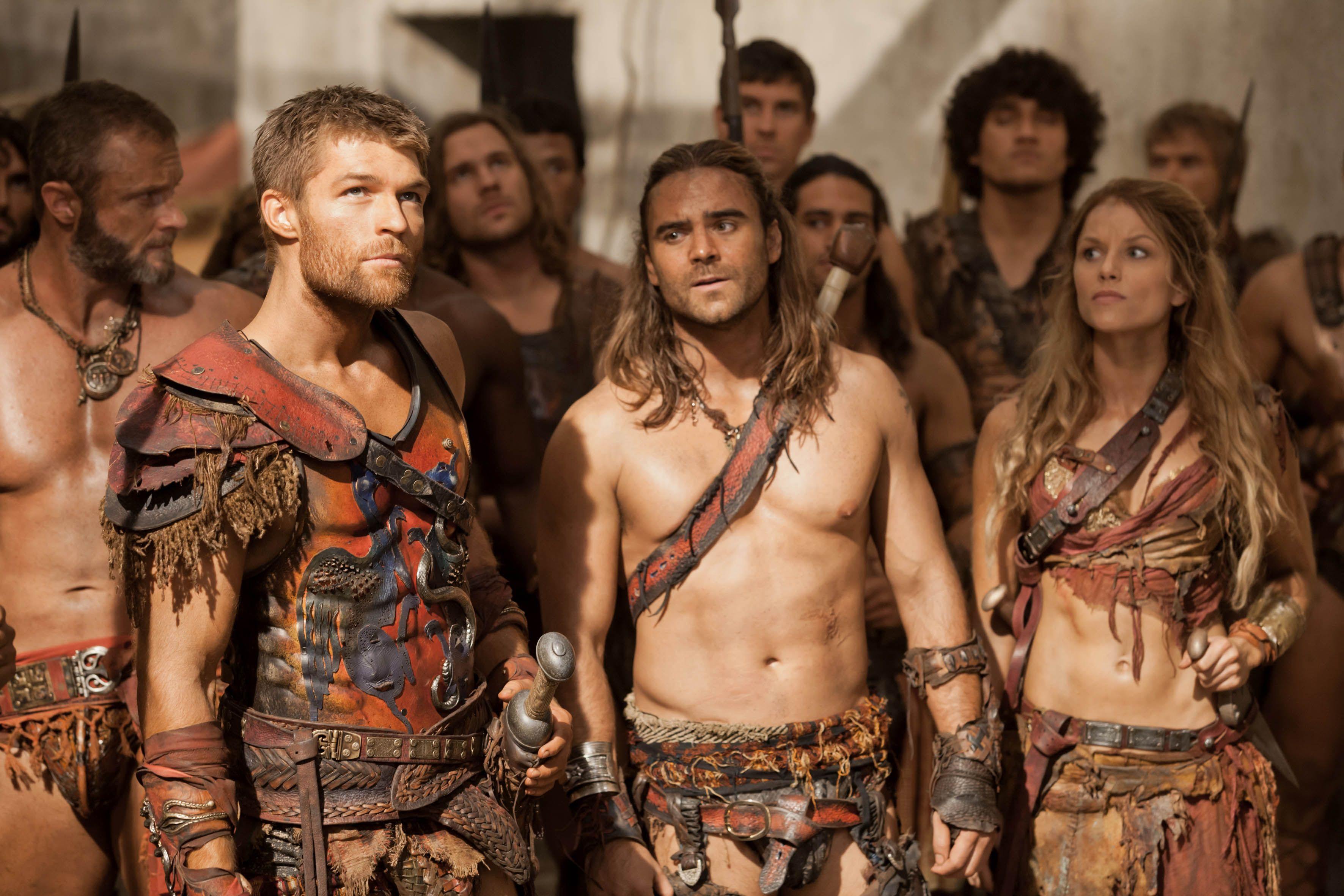 Imagini pentru spartacus tv series
